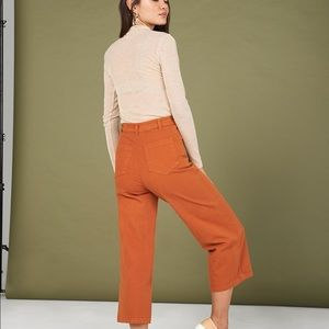 Whimsy and Row Flora Pant in Rust, sz 24